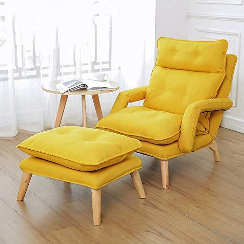 Liuxiaomiao Sofá Perezoso Moderna Sala de Relax sillón ...