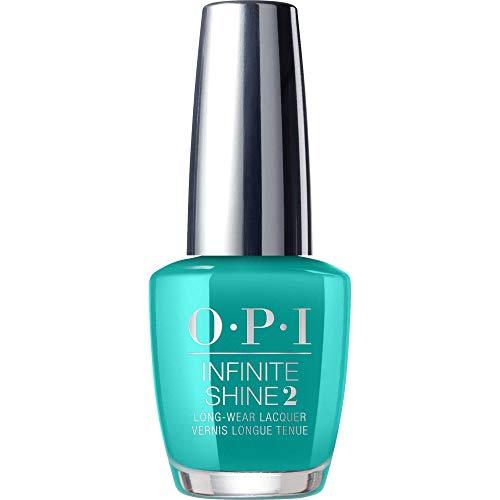 OPI OPI Infinite Shine Nagellack, glänzender und langanhaltender Farblack, NEONs by OPI Collection, 15 ml, ISLN74 - Dance Party 'Teal Dawn (Teal Nagellack Opi)