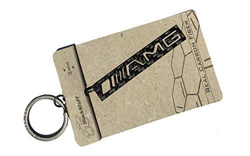 Preisvergleich Produktbild Schlüsselanhänger mit Ring-Halterung, aus Kohlefaser, BS-320