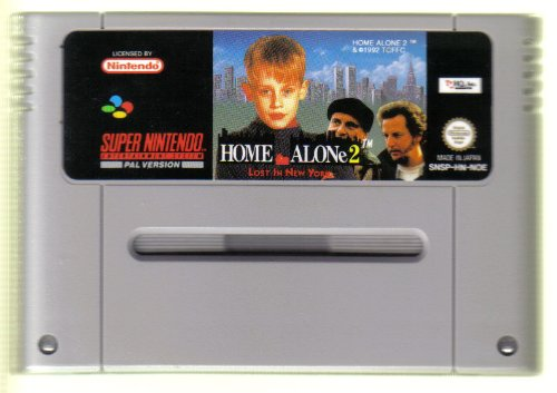 Home Alone 2 Kevin Allein in New York SNES