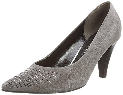 Gabor Dalcross, Scarpe con tacco a punta chiusa donna Grigio (Grigio (Grey Suede))
