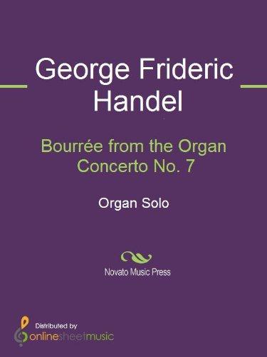 Bourrée from the Organ Concerto No. 7