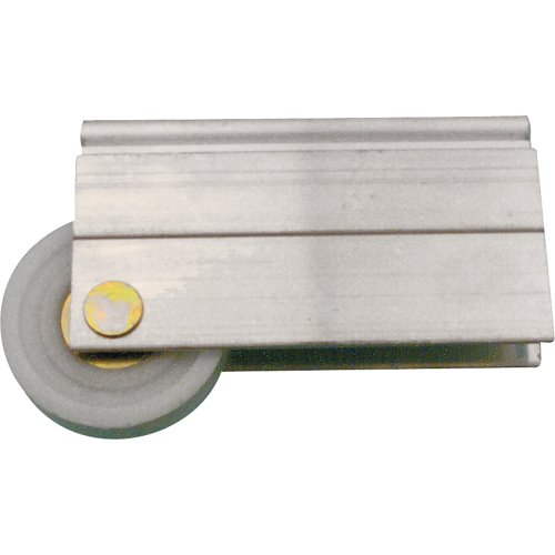 PRIME-LINE PRODUCTS N 6599 MIRROR DOOR ROLLER INDEX WITH 1-1/2-INCH NYLON BALL BEARING
