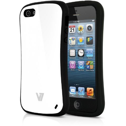V7 PA19SWHT-2E Extreme Guard Hülle für iPhone SE / 5s / 5 weiss