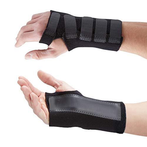 Actesso Fortgeschritten Handgelenkschiene Handgelenkbandage - Lindert Handgelenkschmerz vom Karpaltunnel, Zerrungen, Sehnenscheidenentzündung und Arthritis - Alle Größen (L-R)