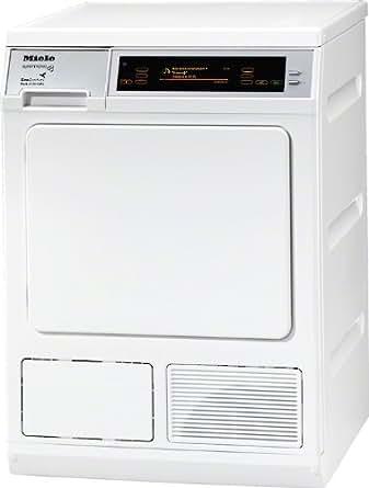 Miele T 8001 WP Supertronic Autonome Charge supérieure 8kg A Blanc - Sèche-linge (Autonome, Charge supérieure, Pompe à chaleur, Blanc, Toucher, 8 kg)
