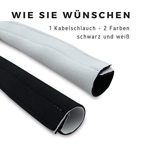 KEEPSORT® Neopren Kabelschlauch Kabelschutz Kabelführung Kabelmanagement...