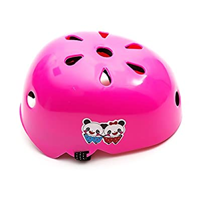Universal Girls Child Pink Protective Helmet 2-5 Years Scooter Skateboard Roller Blades Bike Cycle Bicycle Toy from PetrolScooter