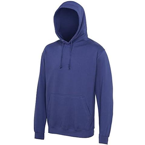 AWDis - Sweat-shirt à capuche - Moderne - Homme - bleu - XX-Large