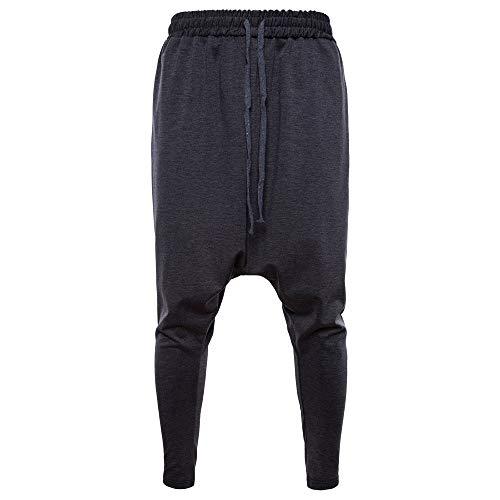 TWBB Pantalones Deportivos de algodón con cordón elástico y Cintura elástica