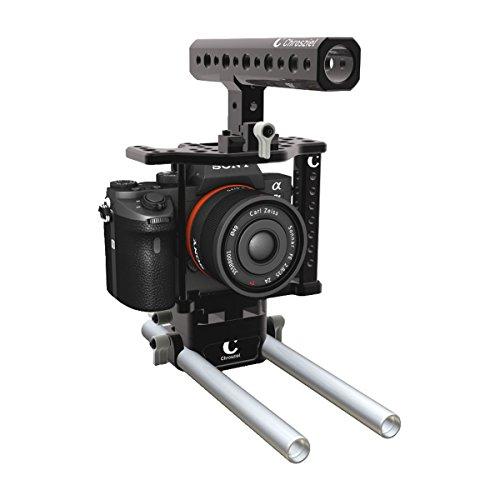 chros obiettivo System 700della A7II gabbia della macchina fotografica per SONY A7II NERO