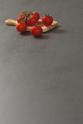 Betonoptik - Resopal Küchenarbeitsplatten (3m × 600mm × 38mm)