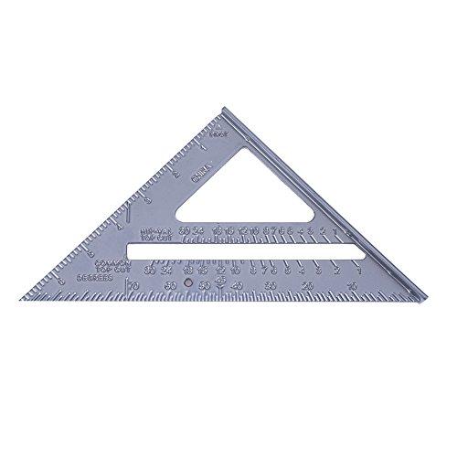 Demiawaking Metrischer Zoll 90 Grad 45 Grad Quadratisches Dreieck Lineal