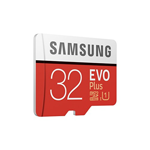 Ansicht vergrößern: Samsung EVO Plus Micro SDHC 32GB bis zu 95MB/s, Class 10 U1 Speicherkarte (inkl. SD Adapter) rot/weiß
