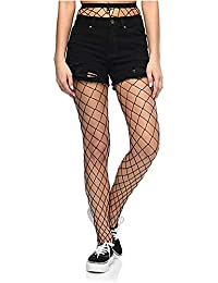3273e24cac Apna Showroom Fishnet Stockings for Women Sexy Black Net Pattern Pantyhose  Stockings Big Mesh Free Size