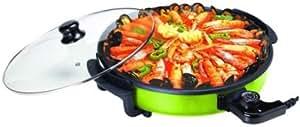 MIA - plat de cuisson électrique XXL rond LemonGreen - 1500 w - MP107