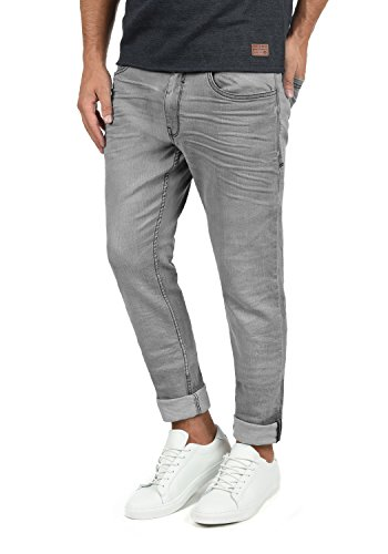 Blend Taifun Herren Jeans Hose Denim Aus Stretch-Material Slim Fit, Größe:W32/34, Farbe:Denim Grey (76205) -