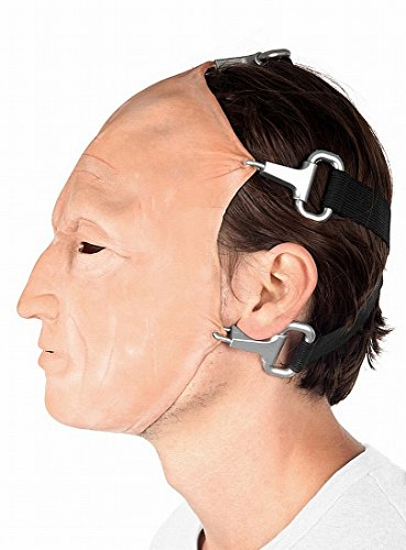 Saw Jigsaw Tobin Bell Halloween Maske original - Saw Jigsaw Killer Kostüm