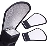 Hanumex Mini Silver White Flash Diffuser Reflector