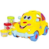 #1: Funbee Self Driving Car Toy with Lights and Sounds for Kids | Learning and Activity Functions & Very Interesting Movements (Fruit Car)