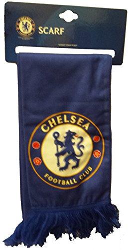 Chelsea FC–Wordmark bufanda de fútbol de forro polar