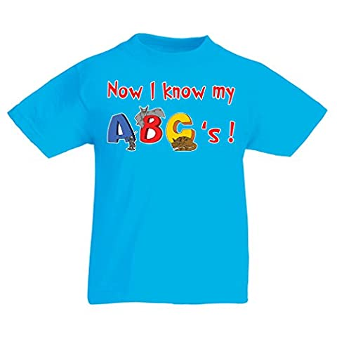 T shirts for kids ABC kids clothes I know my