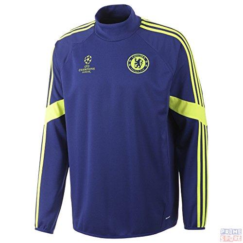 Adidas - Felpa da allenamento del Chelsea FC (Champions League), Chelsea Uomo, - Bleu, XXL