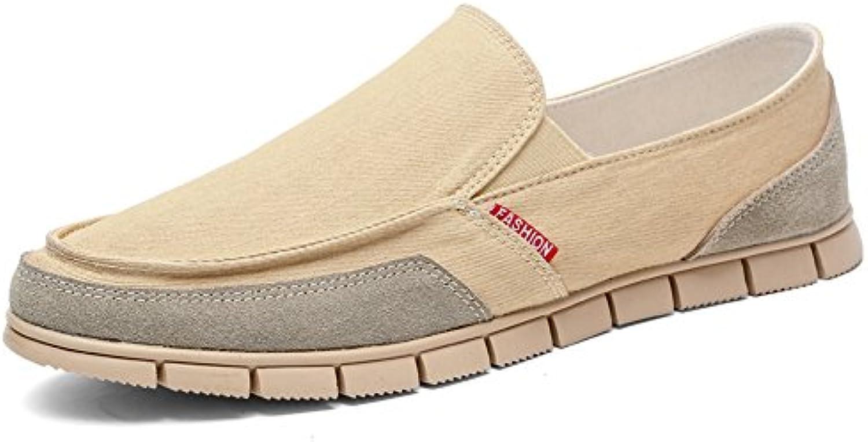 SommerMänner Segeltuchschuhe/Fuß Freizeitschuhe/faule Schuhe/Rutschfeste Schuhe Deodorant/Mittleren Alters Schuhe