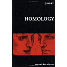 Homology (Ciba Foundation Symposia)
