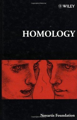 homology-novartis-foundation-symposia