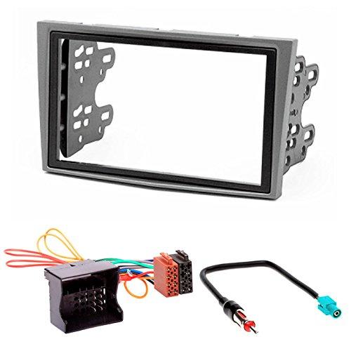 CARAV 11-090-24-7 Radioblende 2-DIN Dash installation kit Set ISO und antennenadapter Iso Dash