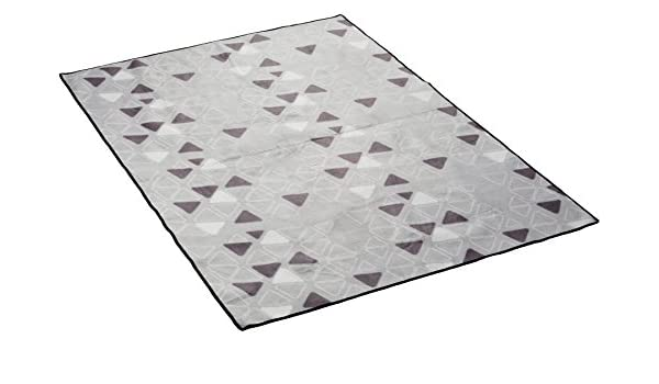 TEKUNICARG10G28 Grey Vango Zelt Teppich Universal Teppich