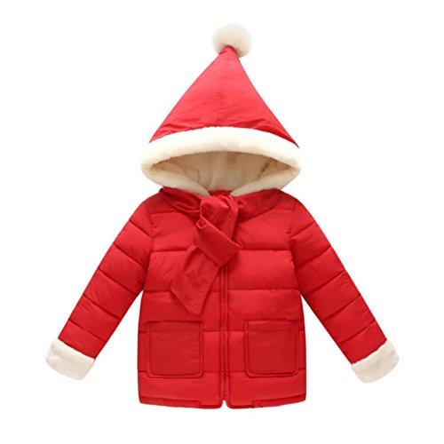 Daunenjacke Mäntel Baby Mäntel Herbst Mädchen Jacken Warme Kinder Coats SOMESUN Bekleidung 2017 (24 Monate, (Nerd Für Outfits Halloween)