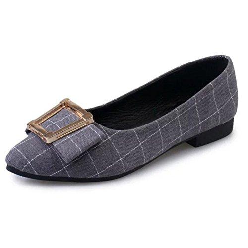 Asakuchi Plana Apontou Sapatos Sexy No Verão Sapatos Decotados Elegante E Confortável Das Mulheres / Escolhe Elegantes Sapatos Baixos Para Ajudar Um