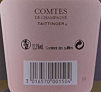 Taittinger Comtes de Champagne Rose Coffret 2007 750 ml