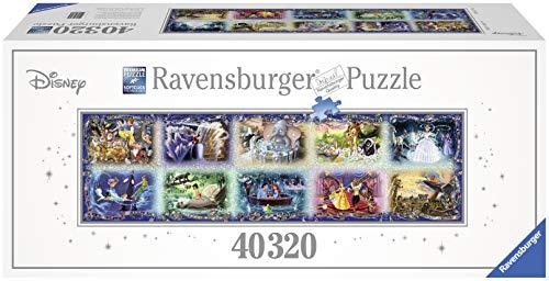 Ravensburger Italy Puzzle in Cartone Momenti Disney Memorabili, 40000 Pezzi, 680 x 192 cm, 17826