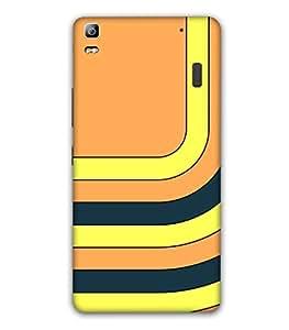 Fonokart Premium Lenovo A7000 Designer 3D Printed Matte Finish Slim Unique High Quality Case Slim Lightweight Back Cover Hard Case