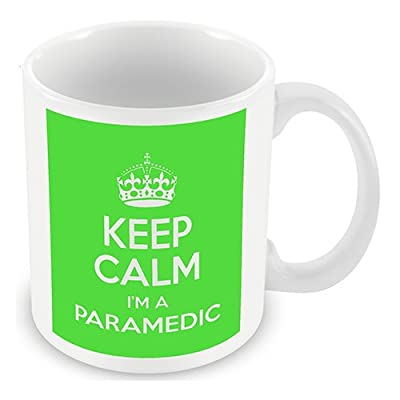Keep Calm I'm a Paramedic (Green) Mug