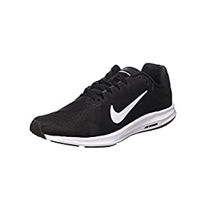 Nike Herren Downshifter 8 Laufschuhe, Schwarz