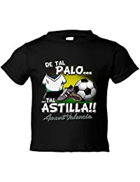 Camiseta niño De tal palo tal astilla Valencia fútbol