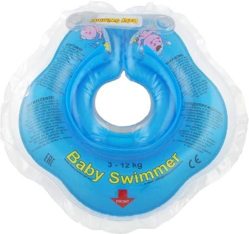 Gummiring Schwimmbad Baby Ruff Baby Schwimmring Geeignet Für 0-10 Monate Baby Gummiring Schwimmbad,Blue