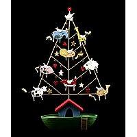 Albero di Natale a forma di Arca di Noè