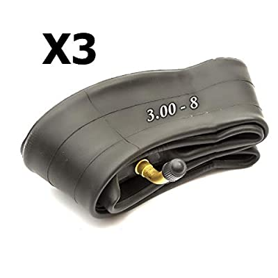 3X 8'' Mobility Scooter Inner Tube Size 3.00-8 Bent Valve Electric Wheelchair 300-8 Tube 8 Inch