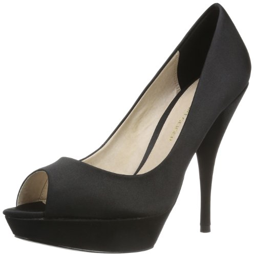KG by Kurt Geiger Women's January Black Open Toe 2539900759 3 UK