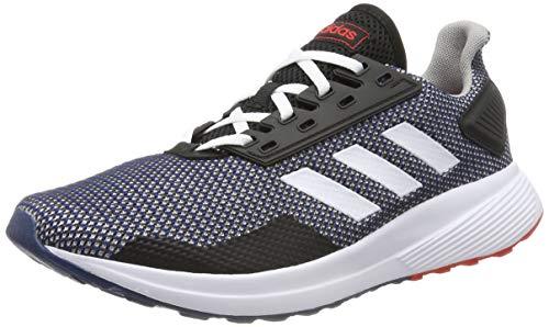 adidas Herren Duramo 9 Sneaker, Blau (Legend Marine/Footwear White/Active Red 0), 43 1/3 EU