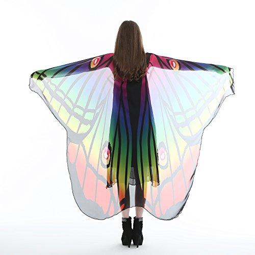 GKPLY Schmetterlingsflügel Wrap Schal Fee Frauen Mädchen Nymphe -