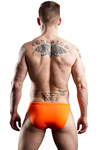 Hom Marina Swim Micro, Boxer Homme Orange