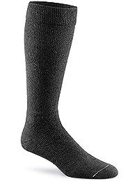 Fox River On The Go de compresión calcetines de peso medio de adultos over-the-calf, hombre, negro, mediano