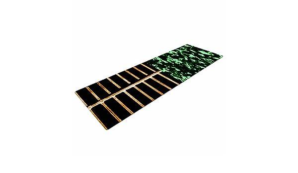 72 X 24 KESS InHouse Trebam Stabla Green Brown Yoga Mat