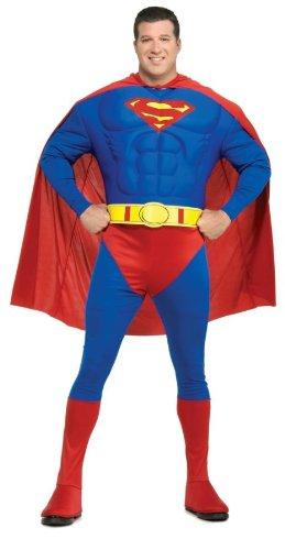 Original Superman Kostüm (Kostüm Plus Superman Size)